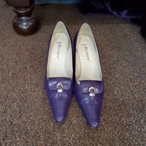 Purple J. Renee Pump